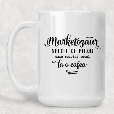 Cană de cafea din porțelan pentru colegul de la Marketing 1