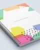 Agenda business cu coperta creativa A5 2
