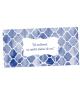 Plic de bani cu monograma albastra 3